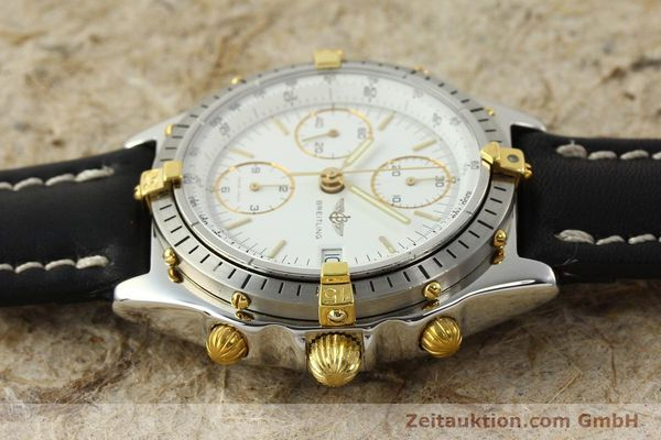 Used luxury watch Breitling Chronomat chronograph steel / gold automatic Kal. ETA 7750 Ref. 81.950  | 142675 05