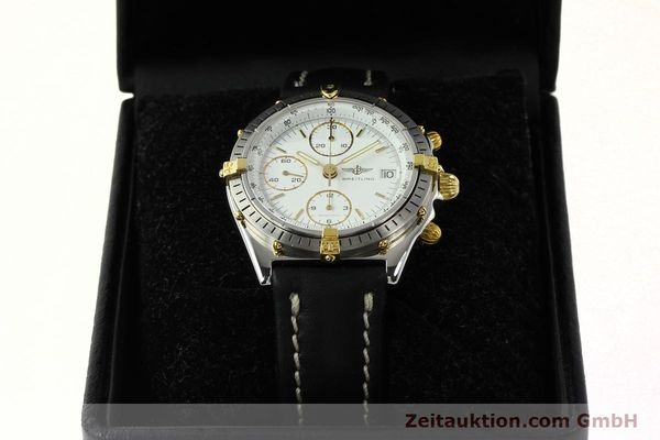 Used luxury watch Breitling Chronomat chronograph steel / gold automatic Kal. ETA 7750 Ref. 81.950  | 142675 07