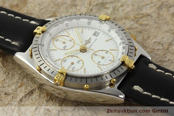 Used luxury watch Breitling Chronomat chronograph steel / gold automatic Kal. ETA 7750 Ref. 81.950  | 142675 13