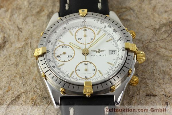 Used luxury watch Breitling Chronomat chronograph steel / gold automatic Kal. ETA 7750 Ref. 81.950  | 142675 14