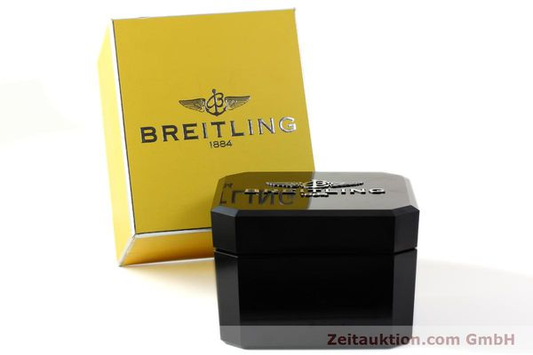 Used luxury watch Breitling Chronomat chronograph 18 ct gold automatic Kal. ETA 7750  | 142678 06