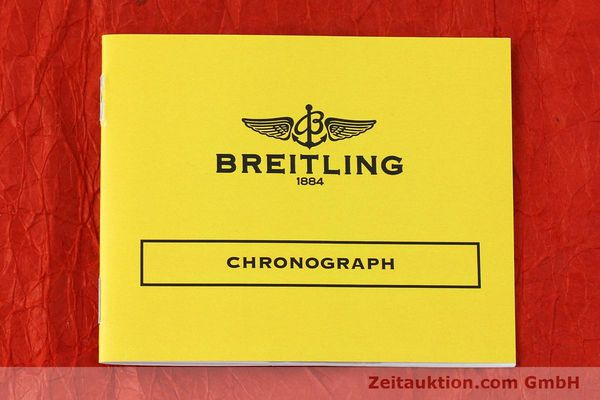 Used luxury watch Breitling Chronomat chronograph 18 ct gold automatic Kal. ETA 7750  | 142678 13