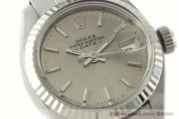 Used luxury watch Rolex Lady Date steel / white gold automatic Kal. 2030 Ref. 6917  | 142679 02