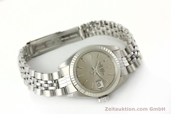Used luxury watch Rolex Lady Date steel / white gold automatic Kal. 2030 Ref. 6917  | 142679 03
