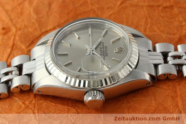 Used luxury watch Rolex Lady Date steel / white gold automatic Kal. 2030 Ref. 6917  | 142679 05