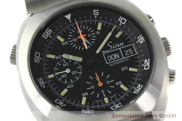 Used luxury watch Sinn D1 Mission chronograph steel automatic Kal. Lemania 5100  | 142681 02