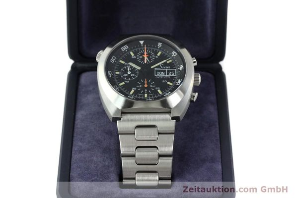 Used luxury watch Sinn D1 Mission chronograph steel automatic Kal. Lemania 5100  | 142681 07