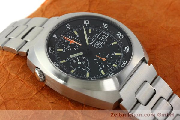 Used luxury watch Sinn D1 Mission chronograph steel automatic Kal. Lemania 5100  | 142681 15