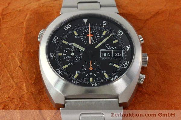 Used luxury watch Sinn D1 Mission chronograph steel automatic Kal. Lemania 5100  | 142681 16