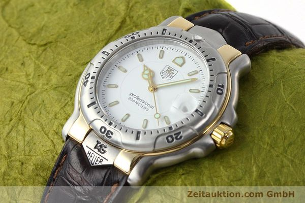 Used luxury watch Tag Heuer Professional steel / gold quartz Kal. 2.93 ETA 955112 Ref. WH1151  | 142682 01