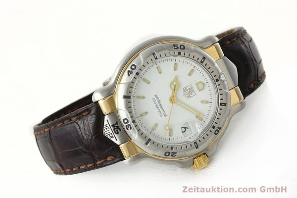 Used luxury watch Tag Heuer Professional steel / gold quartz Kal. 2.93 ETA 955112 Ref. WH1151  | 142682 03