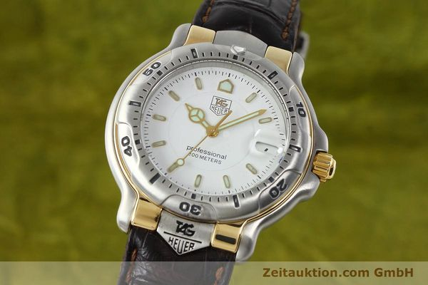 Used luxury watch Tag Heuer Professional steel / gold quartz Kal. 2.93 ETA 955112 Ref. WH1151  | 142682 04