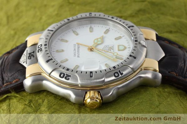 Used luxury watch Tag Heuer Professional steel / gold quartz Kal. 2.93 ETA 955112 Ref. WH1151  | 142682 05