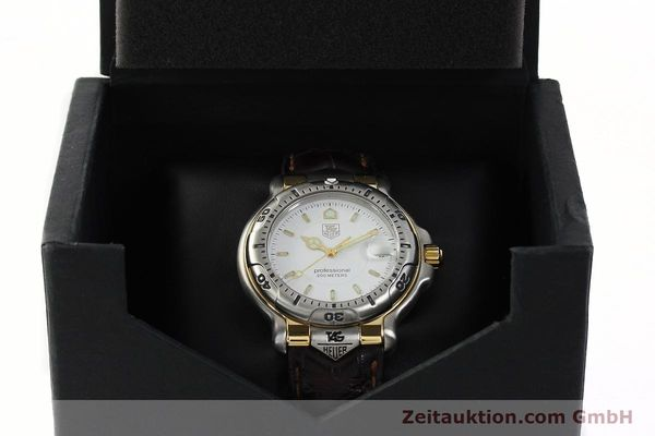 Used luxury watch Tag Heuer Professional steel / gold quartz Kal. 2.93 ETA 955112 Ref. WH1151  | 142682 07