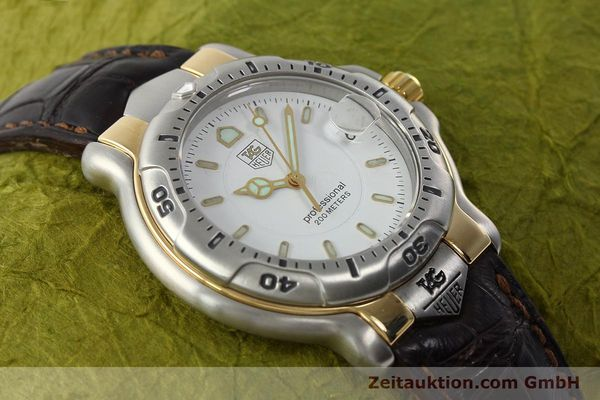 Used luxury watch Tag Heuer Professional steel / gold quartz Kal. 2.93 ETA 955112 Ref. WH1151  | 142682 14