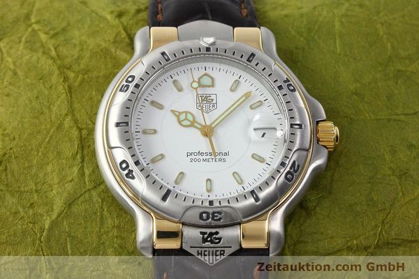Used luxury watch Tag Heuer Professional steel / gold quartz Kal. 2.93 ETA 955112 Ref. WH1151  | 142682 15
