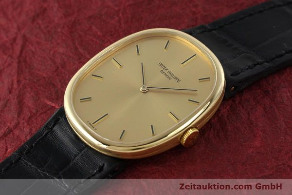 Used luxury watch Patek Philippe Ellipse 18 ct gold manual winding Kal. 215 Ref. 3848  | 142683 01