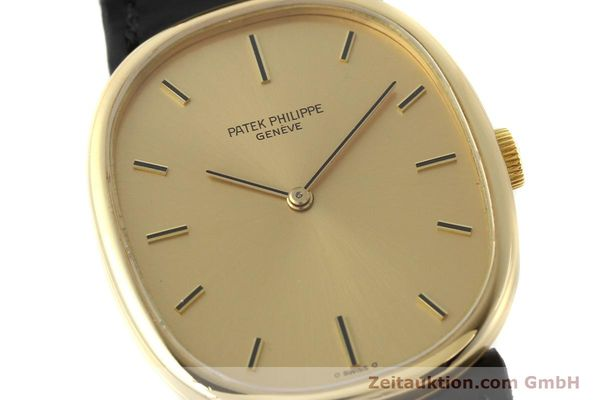 Used luxury watch Patek Philippe Ellipse 18 ct gold manual winding Kal. 215 Ref. 3848  | 142683 02