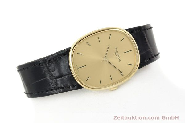 Used luxury watch Patek Philippe Ellipse 18 ct gold manual winding Kal. 215 Ref. 3848  | 142683 03
