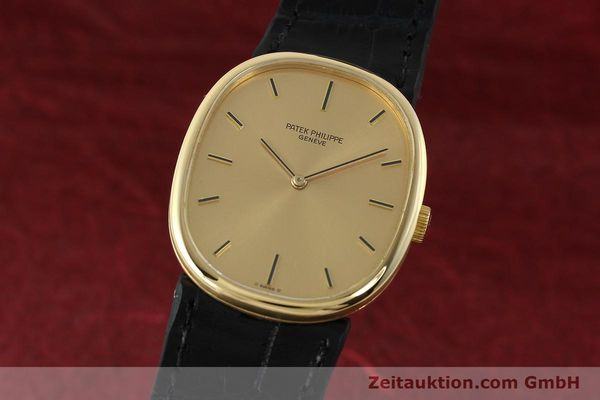 Used luxury watch Patek Philippe Ellipse 18 ct gold manual winding Kal. 215 Ref. 3848  | 142683 04