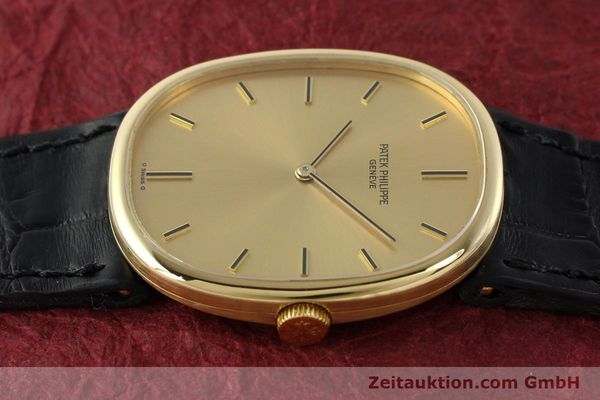 Used luxury watch Patek Philippe Ellipse 18 ct gold manual winding Kal. 215 Ref. 3848  | 142683 05