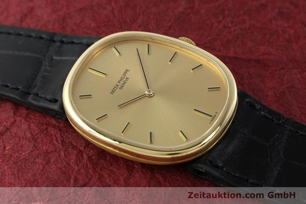 Used luxury watch Patek Philippe Ellipse 18 ct gold manual winding Kal. 215 Ref. 3848  | 142683 15