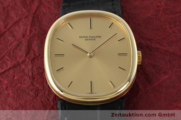 Used luxury watch Patek Philippe Ellipse 18 ct gold manual winding Kal. 215 Ref. 3848  | 142683 16