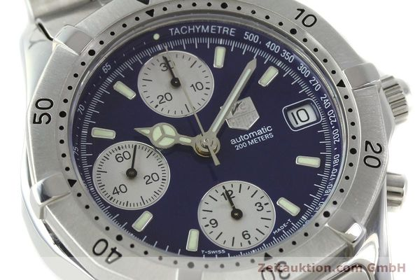 Used luxury watch Tag Heuer Professional chronograph steel automatic Kal. Eta 7750 Ref. CK2111  | 142685 02