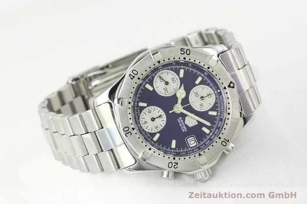 Used luxury watch Tag Heuer Professional chronograph steel automatic Kal. Eta 7750 Ref. CK2111  | 142685 03