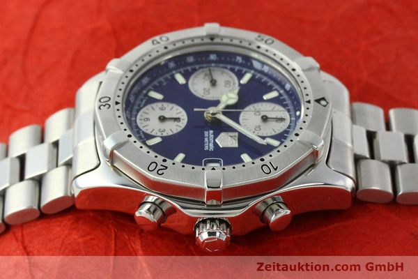Used luxury watch Tag Heuer Professional chronograph steel automatic Kal. Eta 7750 Ref. CK2111  | 142685 05