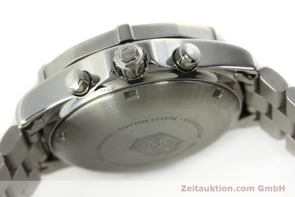 Used luxury watch Tag Heuer Professional chronograph steel automatic Kal. Eta 7750 Ref. CK2111  | 142685 07
