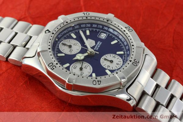 Used luxury watch Tag Heuer Professional chronograph steel automatic Kal. Eta 7750 Ref. CK2111  | 142685 13