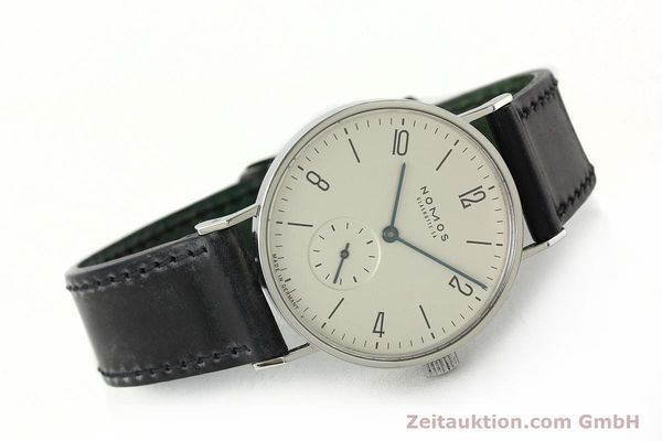 Used luxury watch Nomos Tangente steel manual winding Kal. ETA 7001  | 142687 03