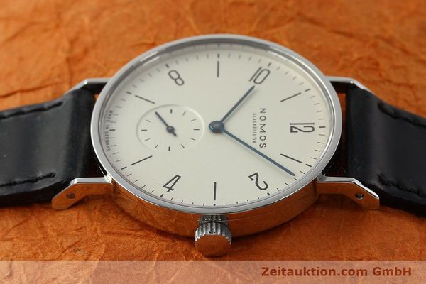 Used luxury watch Nomos Tangente steel manual winding Kal. ETA 7001  | 142687 05