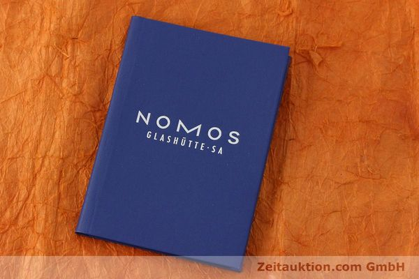 Used luxury watch Nomos Tangente steel manual winding Kal. ETA 7001  | 142687 08