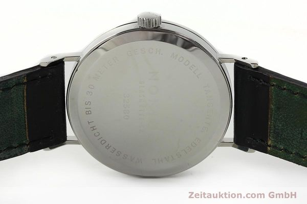 Used luxury watch Nomos Tangente steel manual winding Kal. ETA 7001  | 142687 09