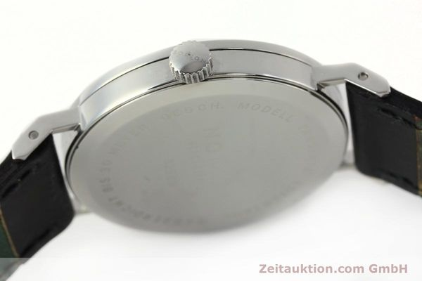 Used luxury watch Nomos Tangente steel manual winding Kal. ETA 7001  | 142687 11