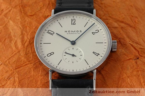 Used luxury watch Nomos Tangente steel manual winding Kal. ETA 7001  | 142687 15