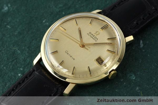 Used luxury watch Omega * 14 ct yellow gold automatic Kal. 585 Ref. 1211  | 142688 01