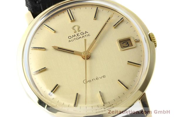 Used luxury watch Omega * 14 ct yellow gold automatic Kal. 585 Ref. 1211  | 142688 02