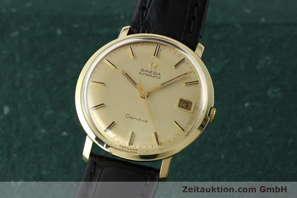 Used luxury watch Omega * 14 ct yellow gold automatic Kal. 585 Ref. 1211  | 142688 04