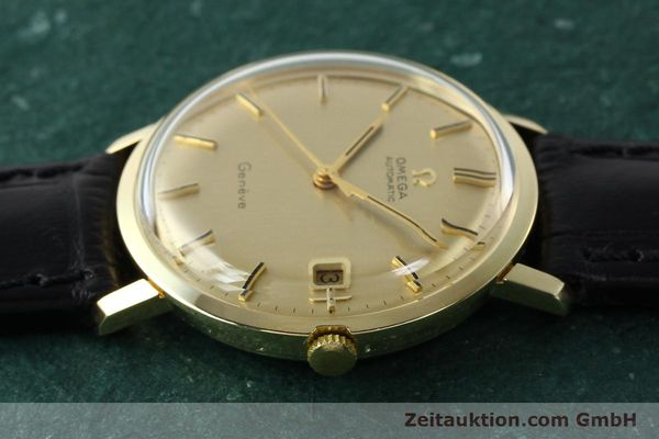 Used luxury watch Omega * 14 ct yellow gold automatic Kal. 585 Ref. 1211  | 142688 05
