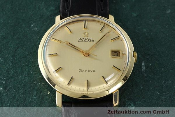 Used luxury watch Omega * 14 ct yellow gold automatic Kal. 585 Ref. 1211  | 142688 15