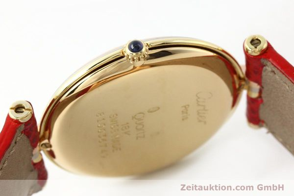 Used luxury watch Cartier * 18 ct gold quartz Kal. 690  | 142691 08