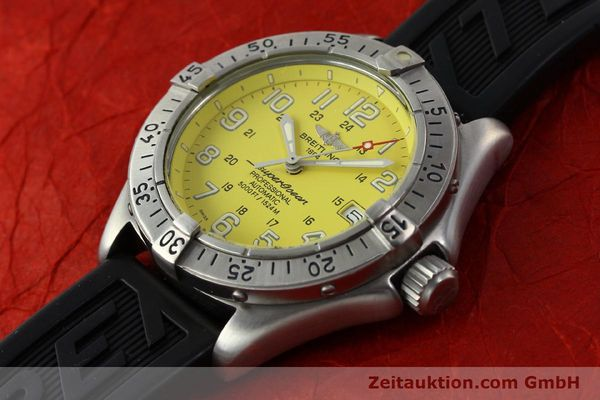 Used luxury watch Breitling Superocean steel automatic Kal. B17 ETA 2824-2 Ref. A17045  | 142693 01
