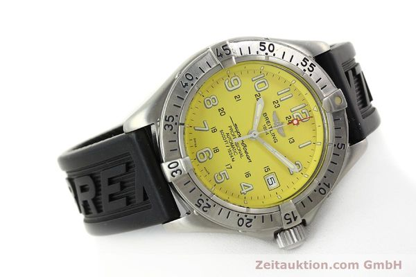 Used luxury watch Breitling Superocean steel automatic Kal. B17 ETA 2824-2 Ref. A17045  | 142693 03