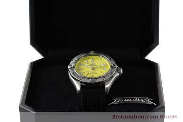Used luxury watch Breitling Superocean steel automatic Kal. B17 ETA 2824-2 Ref. A17045  | 142693 07