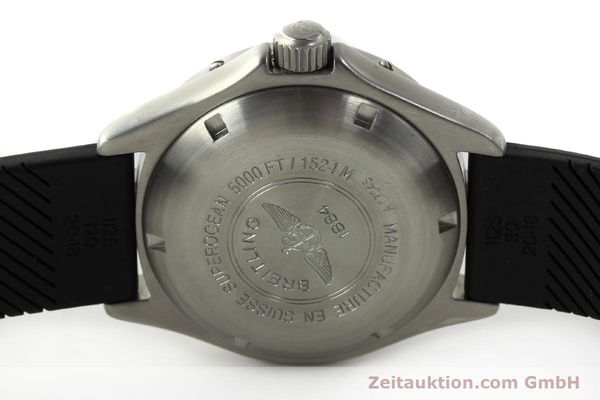 Used luxury watch Breitling Superocean steel automatic Kal. B17 ETA 2824-2 Ref. A17045  | 142693 09