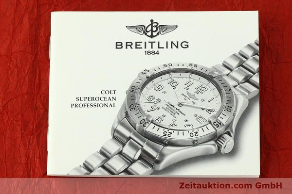 Used luxury watch Breitling Superocean steel automatic Kal. B17 ETA 2824-2 Ref. A17045  | 142693 14