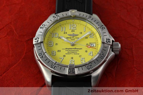 Used luxury watch Breitling Superocean steel automatic Kal. B17 ETA 2824-2 Ref. A17045  | 142693 18